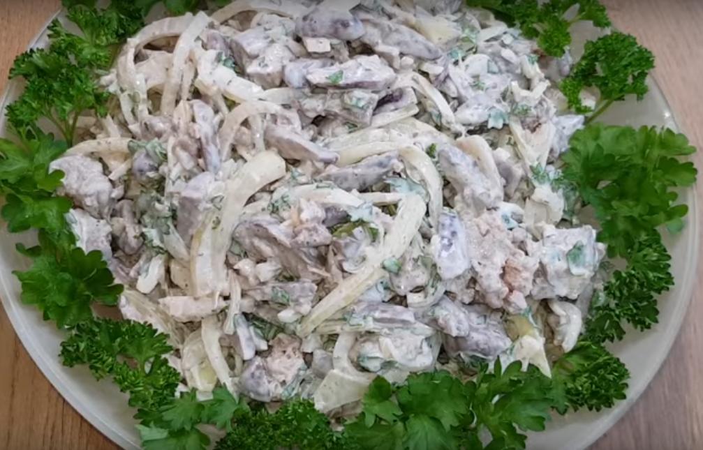 Обалденный загадочный салат из 3-ех ингредиентов