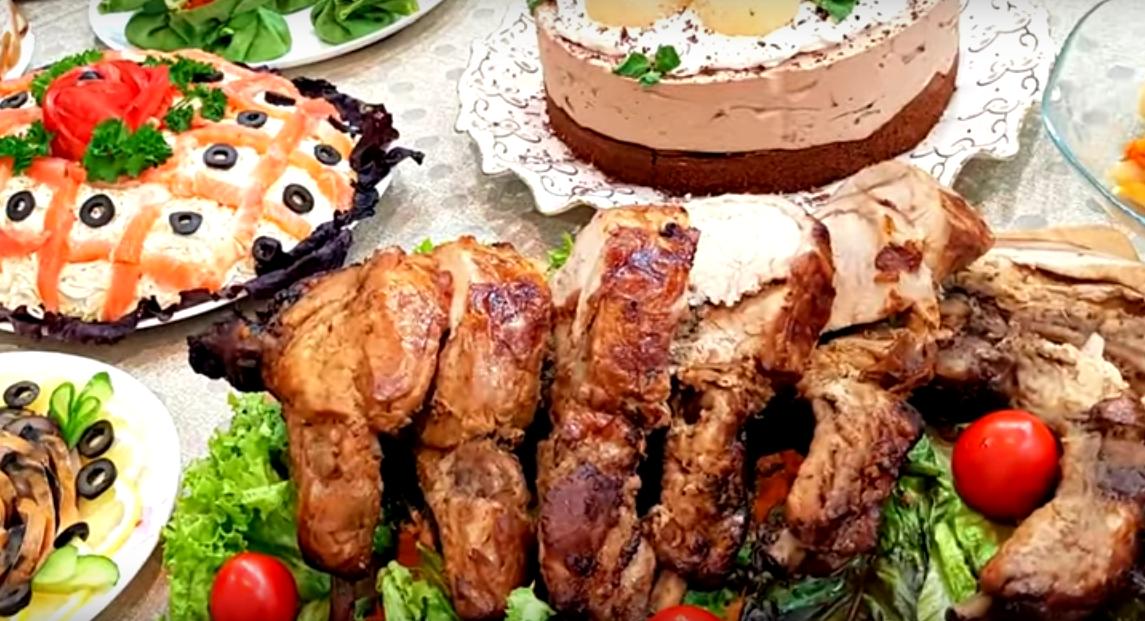 Вкуснейшее мясо в имбирно-соевом маринаде