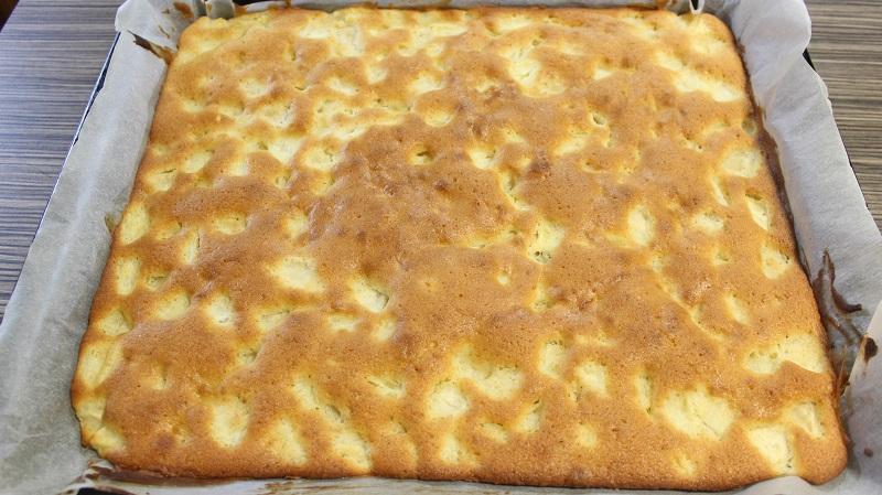 Обалденный сдобный пирог с яблоками