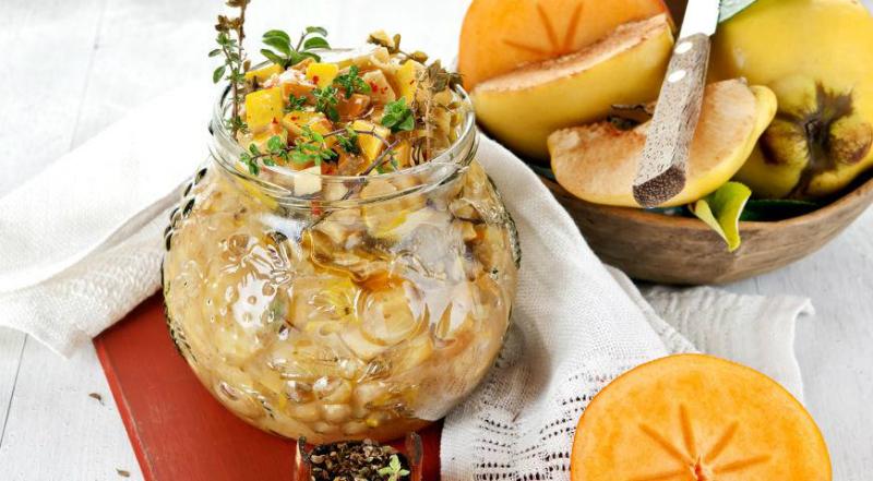 Сезонные блюда из хурмы: десерты, салаты, закуски