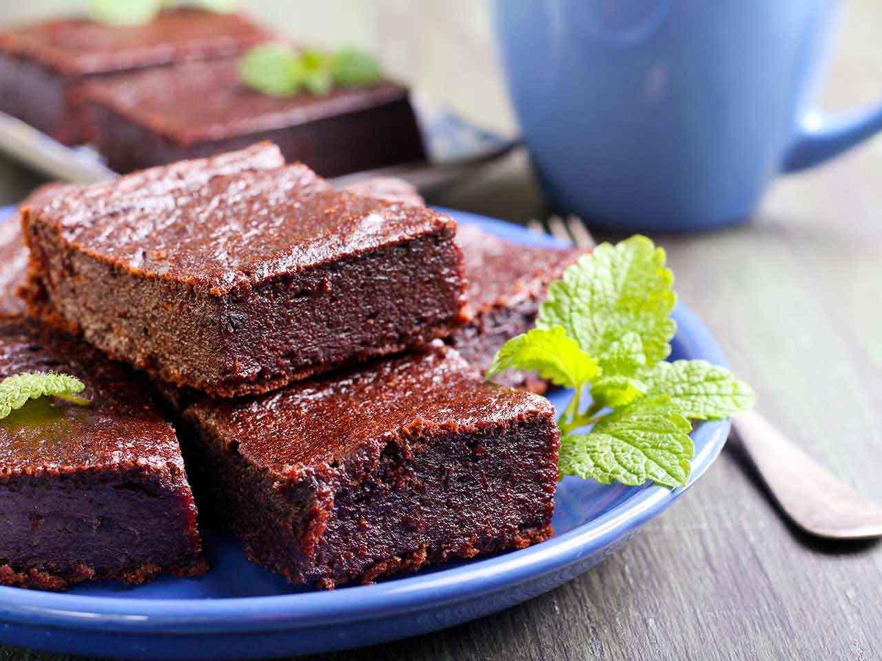Веганский шоколадный пирог