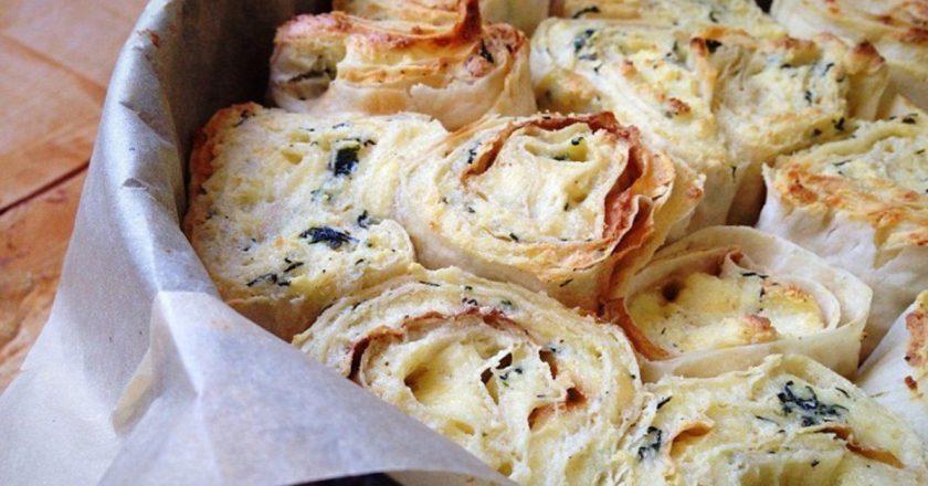 Пирог из лаваша с сыром: от аромата кружится голова