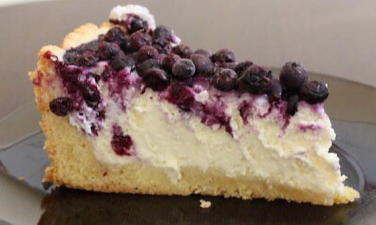 Бесподобный творожный пирог с ягодами