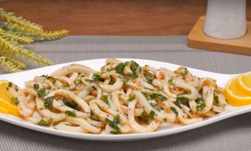 Маринованные кальмары - вкусно и просто