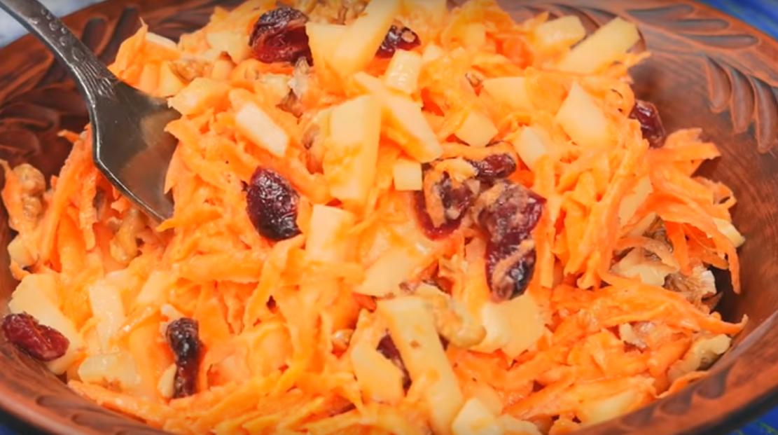 Гениальный салат из моркови