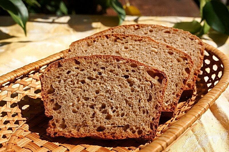 Цельнозерновой хлеб за 5 минут