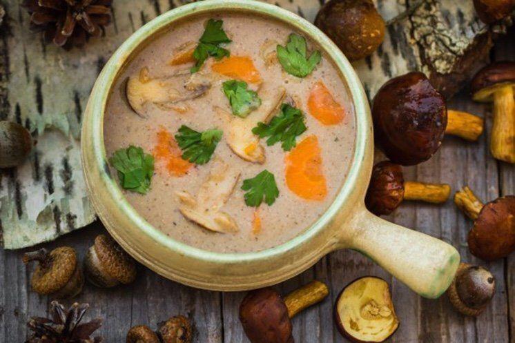 Вкуснейший грибной крем-суп