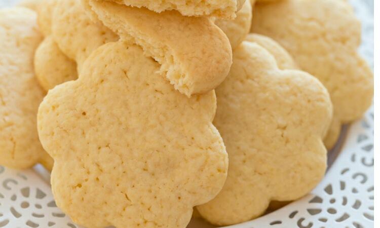 Вкуснейшее лимонное печенье из рисовой муки