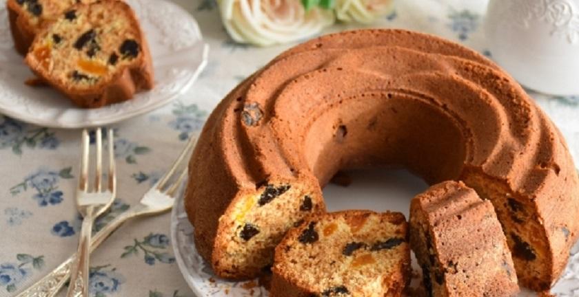 Кекс с курагой и черносливом: идеальный вариант для зимнего чаепития