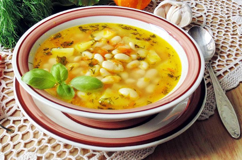 Постный суп с перловкой и фасолью: прекрасный вариант обеда