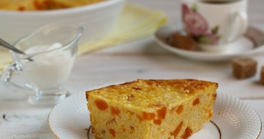 Запеканка из пшена и тыквы: вкусный завтрак – и море пользы
