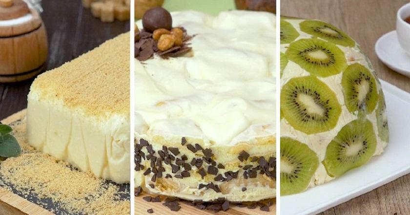 Сметанный торт: три потрясающих рецепта на все случаи