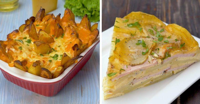 Запеченный сырный картофель: два необычных рецепта