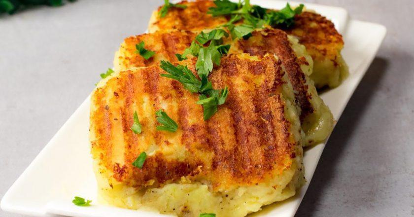 Бутерброды из картошки: оригинальное основное блюдо