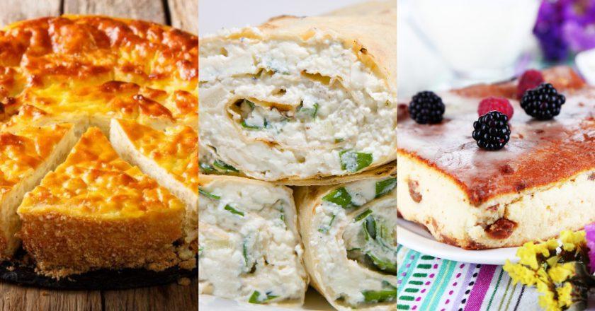 Блюда с творогом: незамысловатые рецепты на все случаи