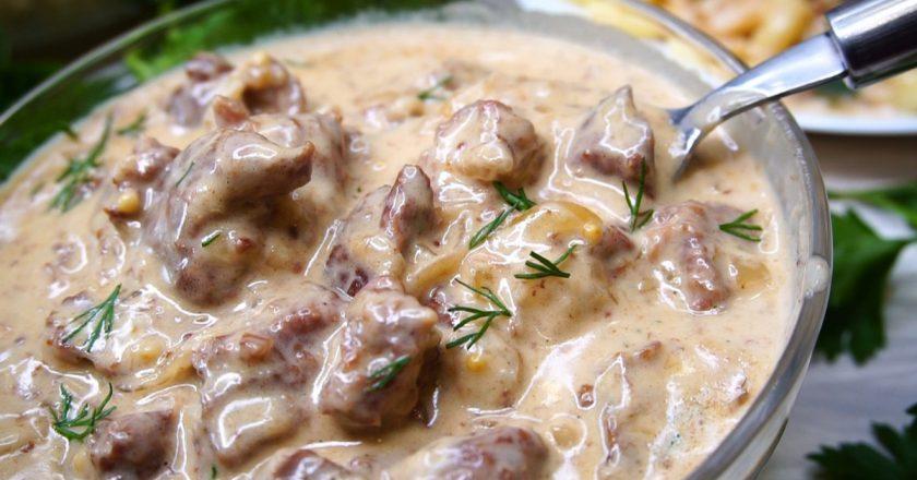 Говядина под горчичным соусом в духовке: нежная и ароматная