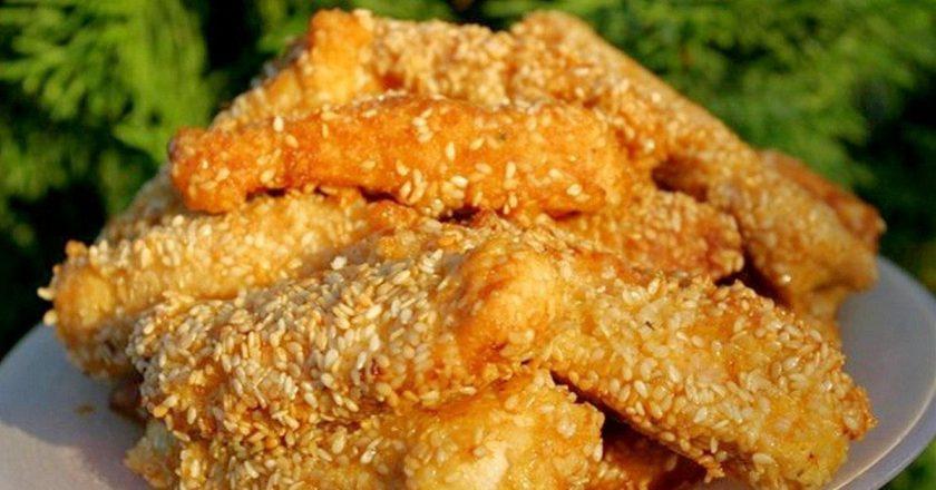 Рыбное филе в кунжуте: простой и быстрый рецепт вкусного блюда