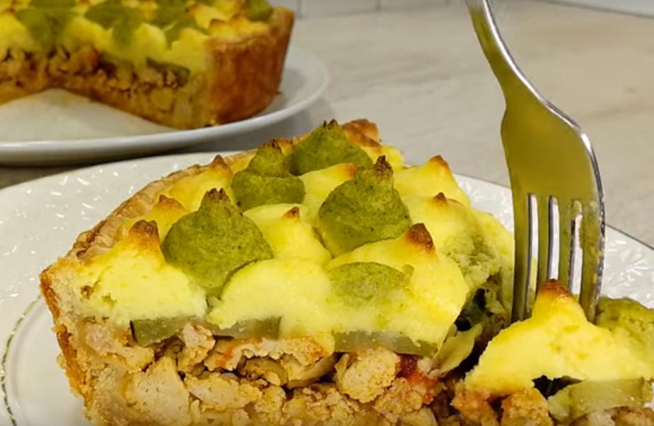 Праздничное блюдо из простых продуктов