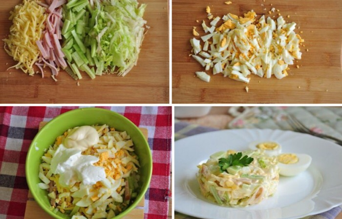 Вкуснейший салатик «Неженка»