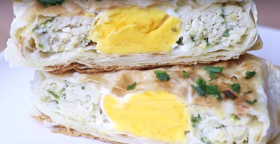 Быстрое и вкусное блюдо из лаваша