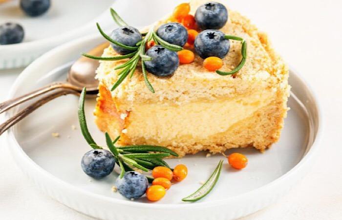 Воздушный творожный пирог из 5 ингредиентов