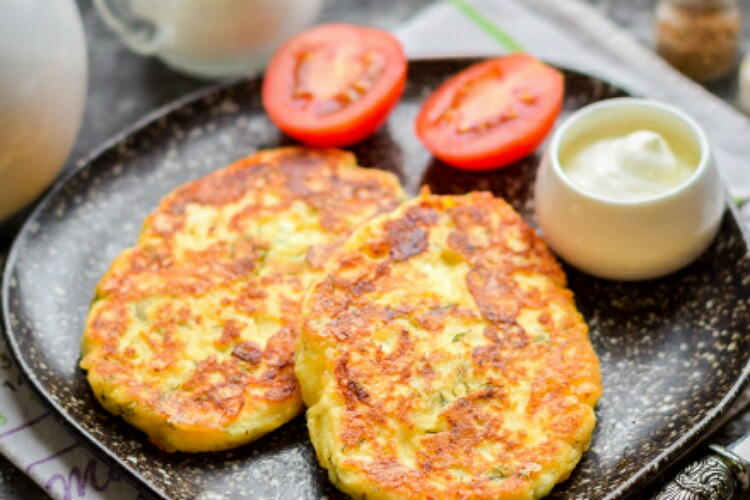 Вкусные сырно-творожные сырники