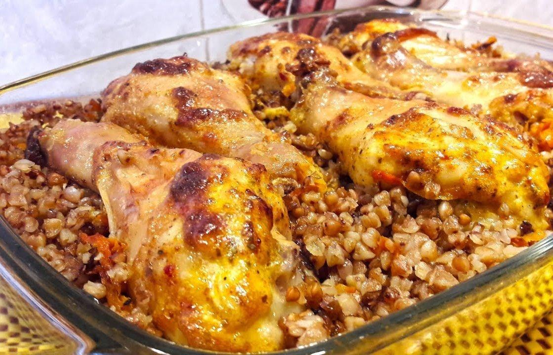 Гречка с курицей в духовке: вкусно и просто
