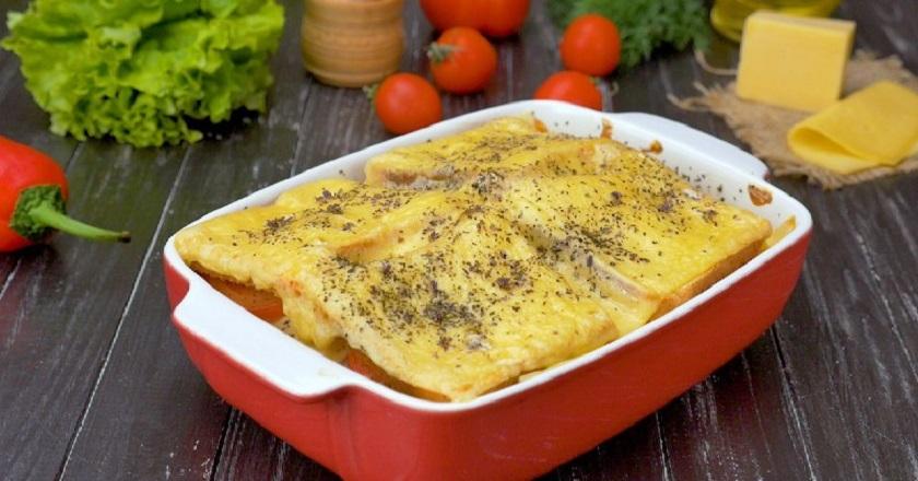 Сытный сэндвич в духовке: настоящий кулинарный шедевр