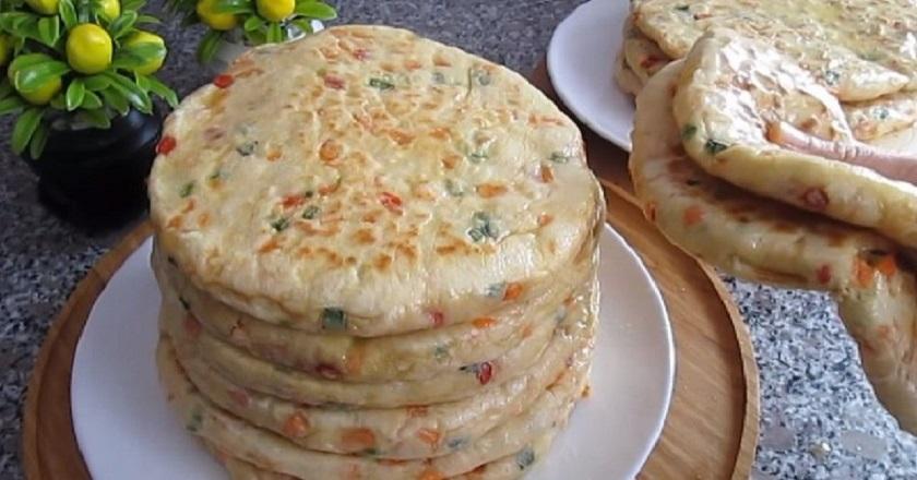 Лепешки с овощами на сковороде: простой и оригинальный рецепт