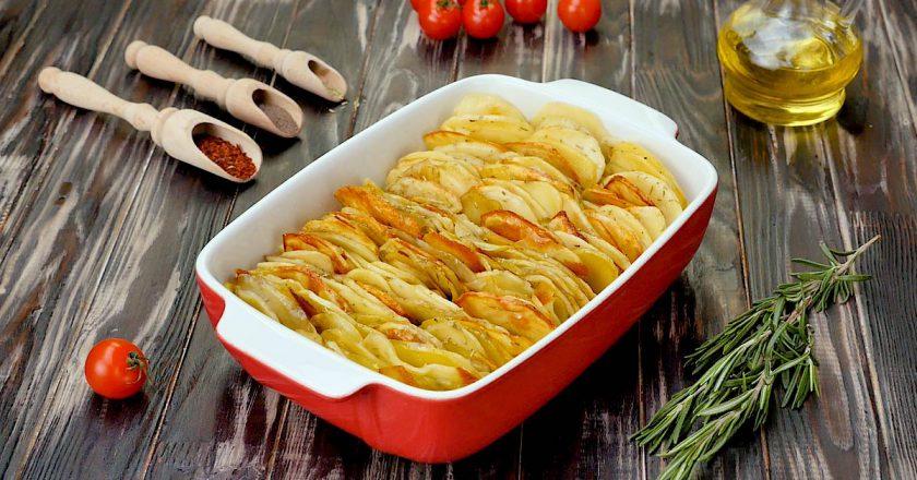 Хрустящие картофельные лепестки: шикарный вкус!