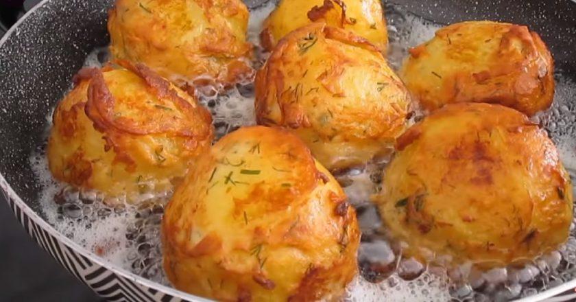 Ароматный картофель в кляре: интересный  рецепт жареного блюда