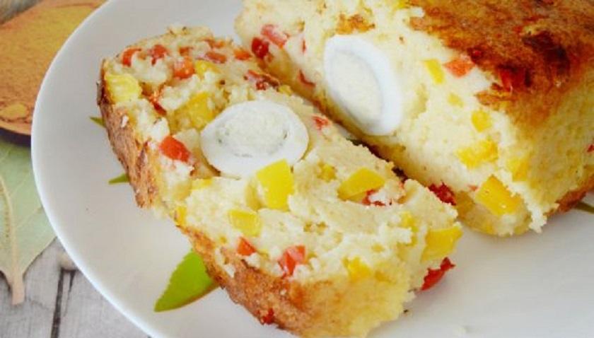 Запеканка из кускуса с яйцом: весьма эффектное блюдо