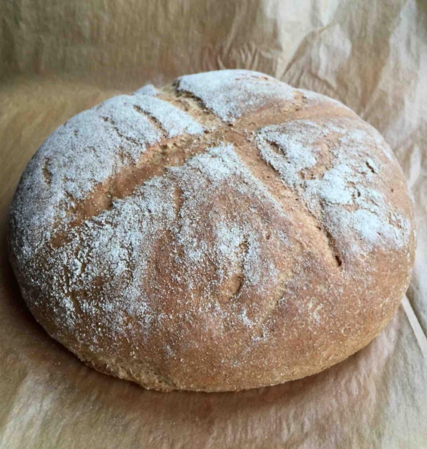 Финский хлеб с овсяными хлопьями без хлопот