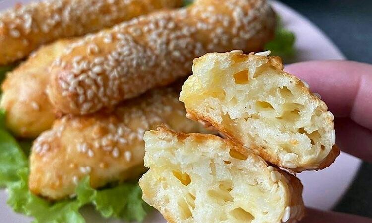Аппетитные сырные палочки