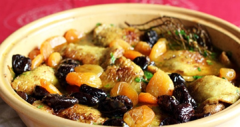 Куриные бедрышки с сухофруктами: самый вкусный ужин