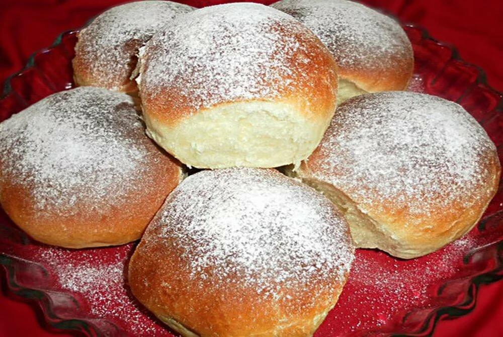 Бомбические карамельные булочки с лимонадом