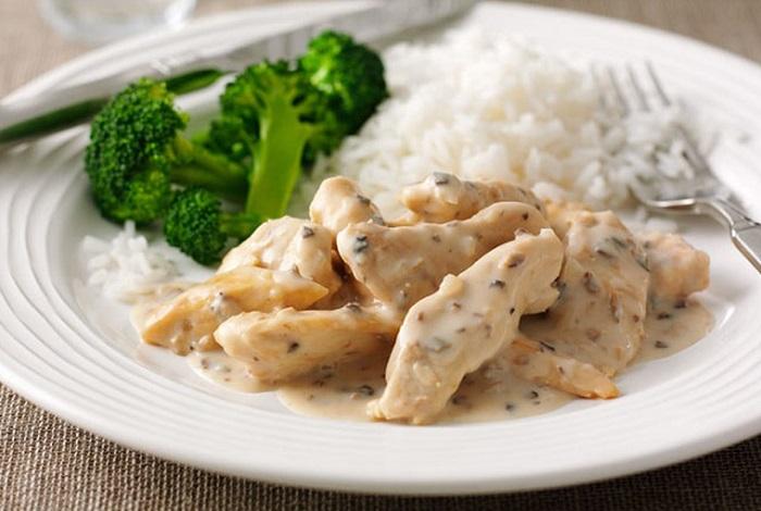 Изысканное блюдо из курицы