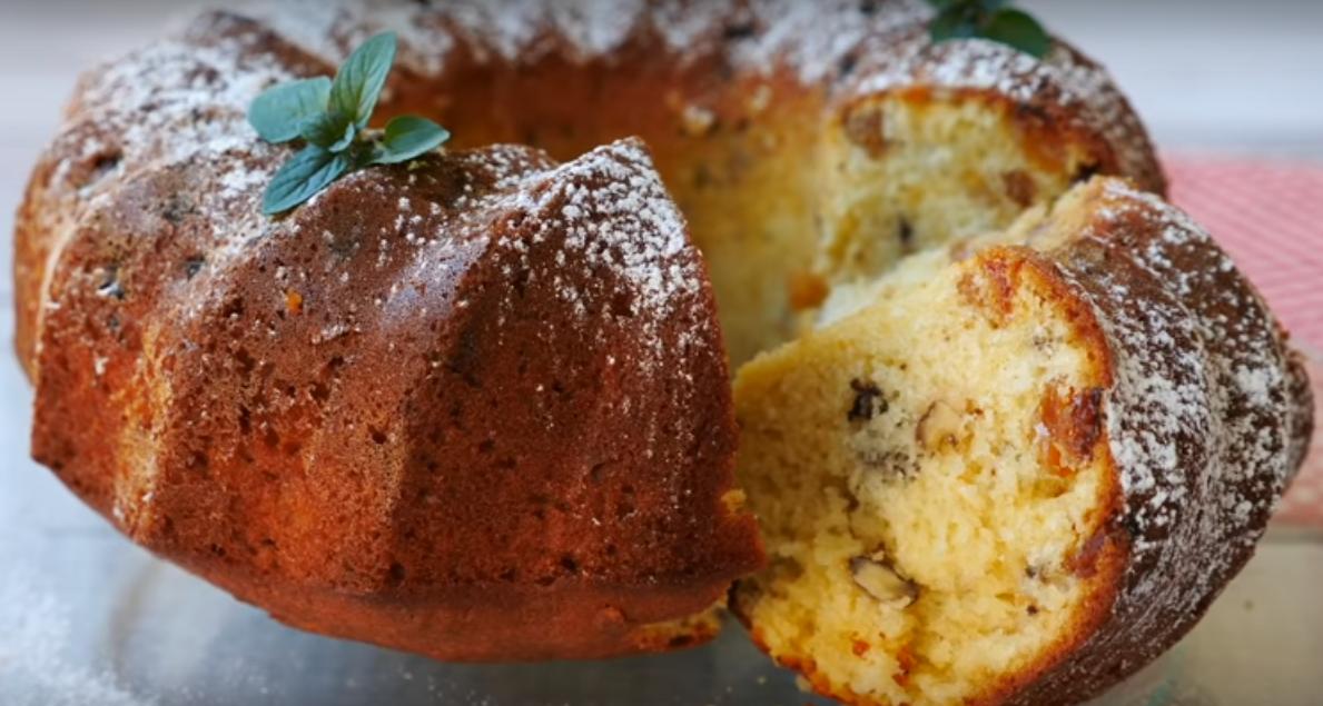 Простой кекс из продуктов, которые всегда есть дома