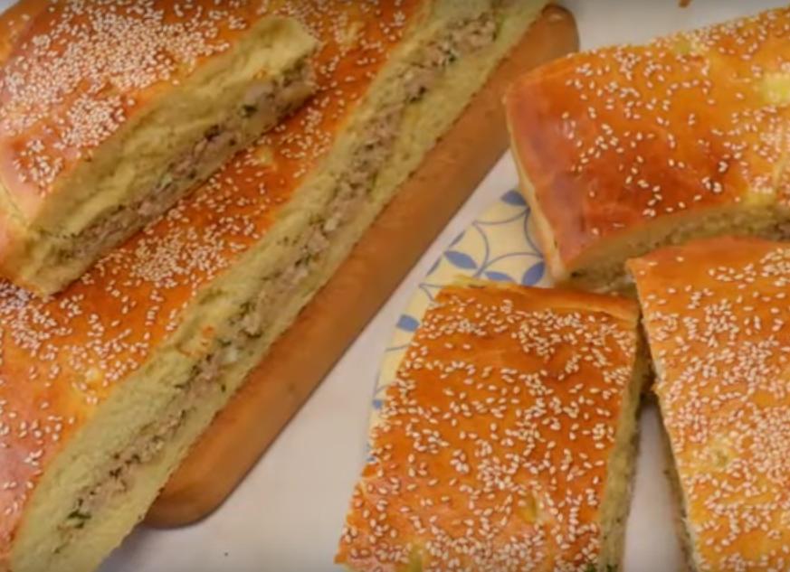 Очень вкусный пирог с мясом