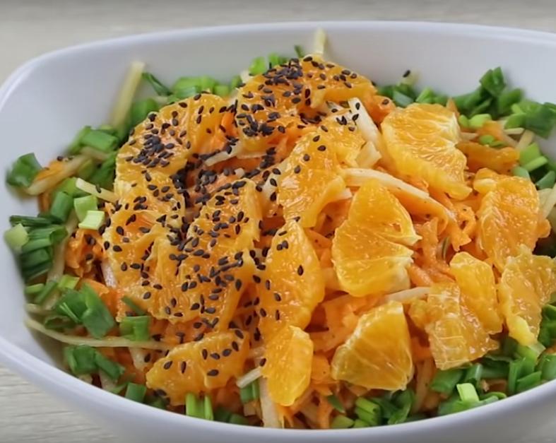 3 вкусных салата для постного меню