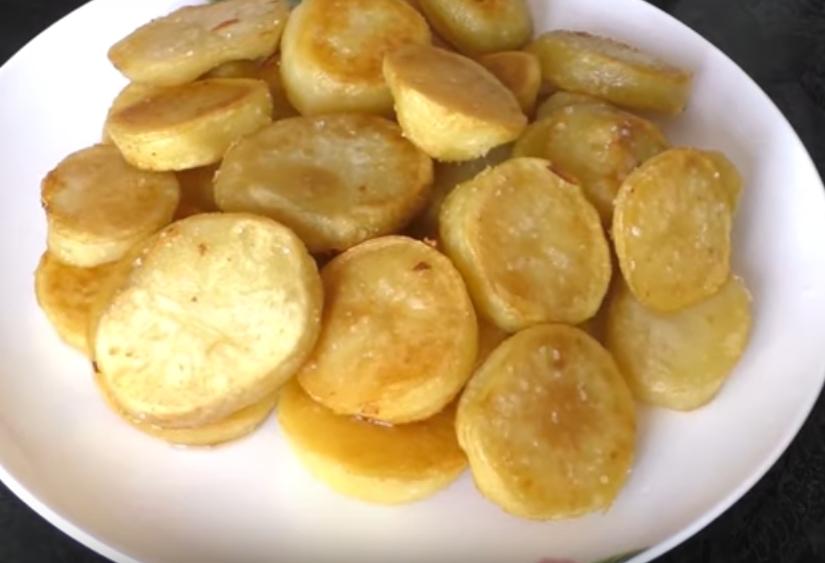 Деревенский рецепт жареной картошки