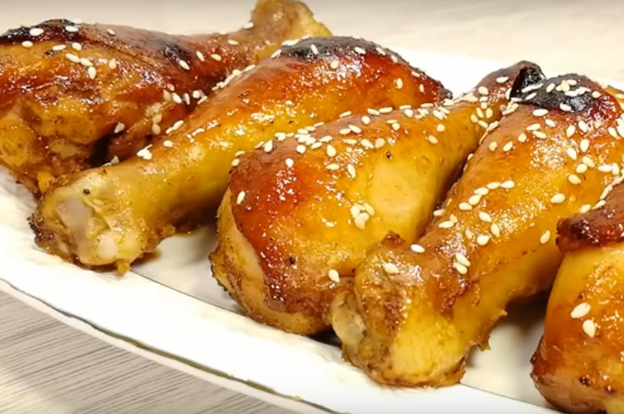 Куриные голени в соевом маринаде: вкусно и просто