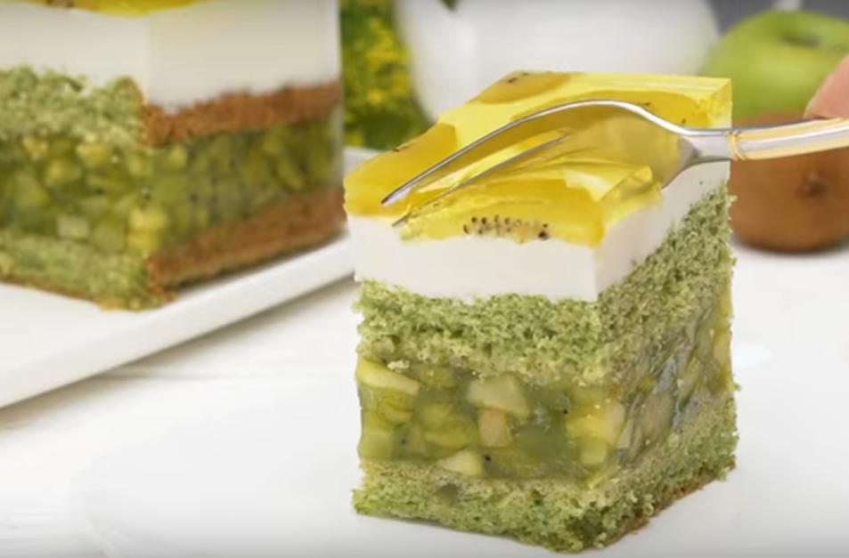 """Удивительно красивый торт """"Весна"""""""