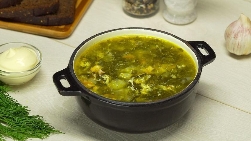 Щавелевый суп с яйцом и мясом: готовим по классическому рецепту