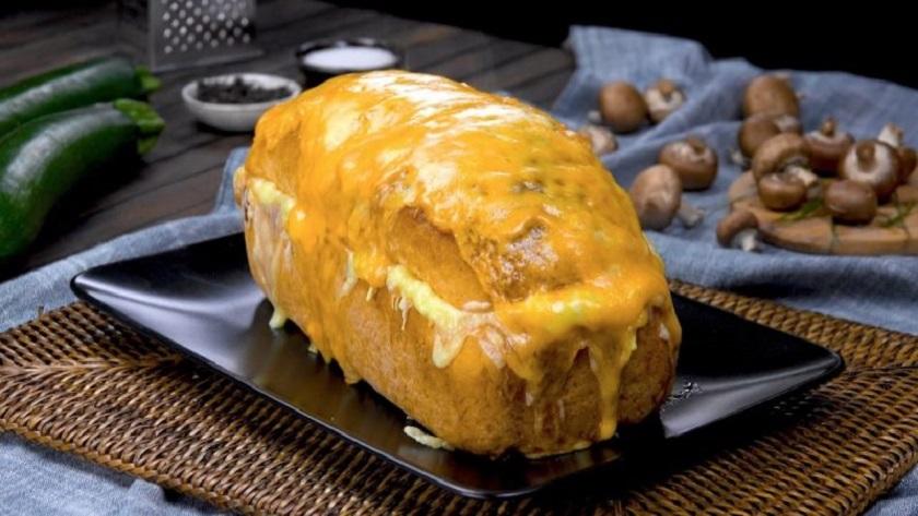 Домашний хлеб с мясной начинкой: вкуснятина на скорую руку