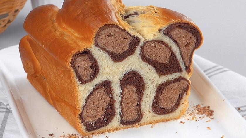 Красивый домашний хлеб «Леопард»: все намного проще, чем кажется