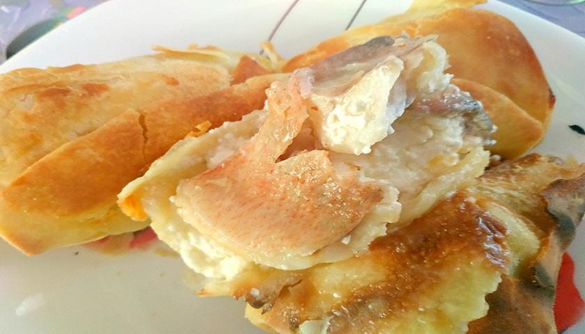 Нежнейший морской окунь в тесте фило: шикарный ужин