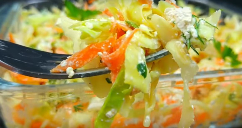 Невероятно вкусное блюдо из молодой капусты