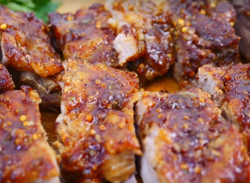 Аппетитные и ароматные ребрышки в духовке