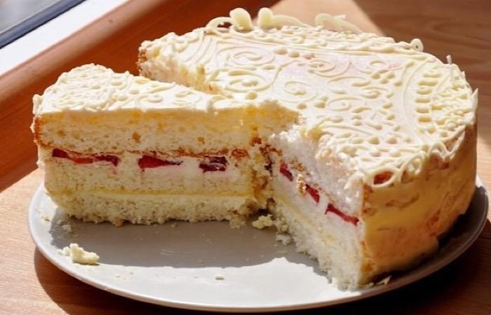 """Обалденный торт """"Пища ангелов"""""""